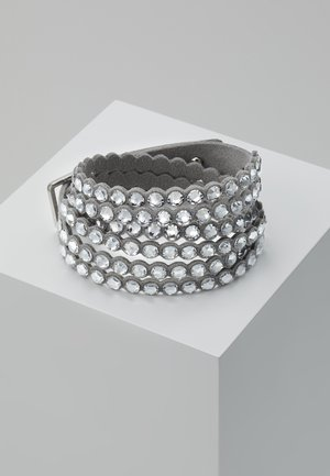 POWER BRACELET SLAKE - Bransoletka - silver-coloured