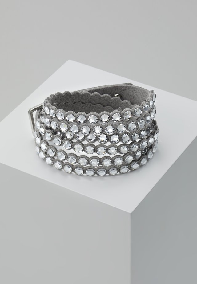 POWER BRACELET SLAKE - Armbånd - silver-coloured