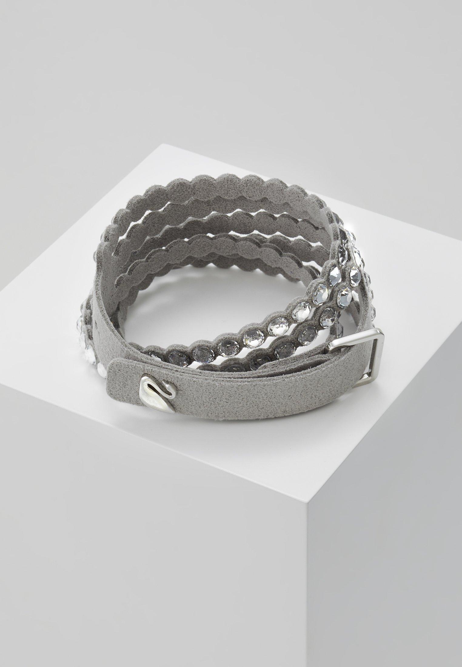 Swarovski POWER BRACELET SLAKE - Armband - silver-coloured