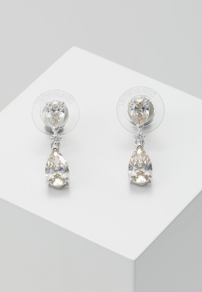 Swarovski - PALACE DROP - Boucles d'oreilles - white