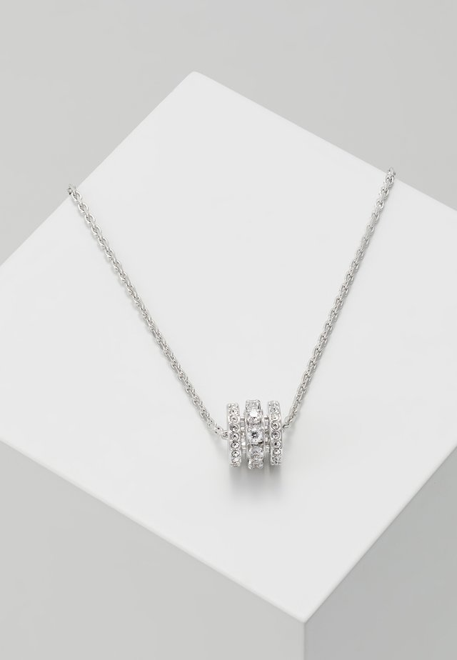 FURTHER PENDANT - Necklace - white