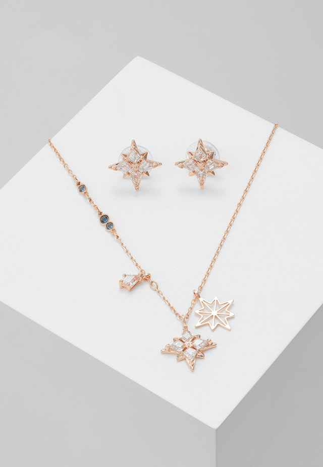 SYMBOL STAR SET - Korvakorut - white