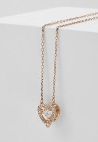 Swarovski - SPARKLING NECKLACE - Ketting - rose-gold-coloured - 5