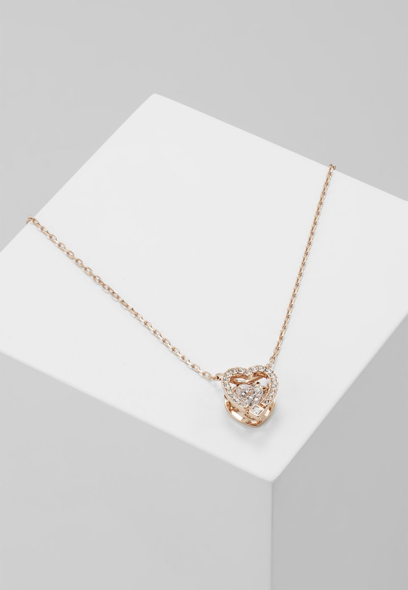 Swarovski - SPARKLING NECKLACE - Ketting - rose-gold-coloured