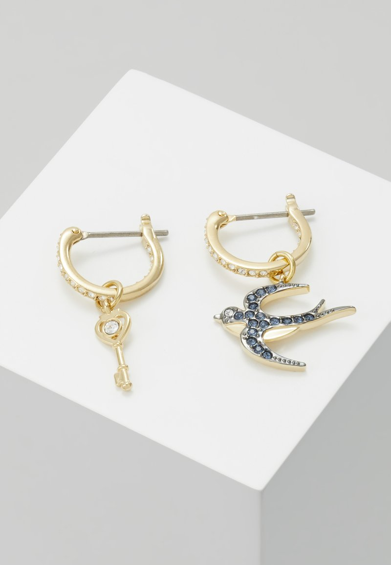 Swarovski - TAROT MAGIC HOOP BIRD  - Earrings - montana