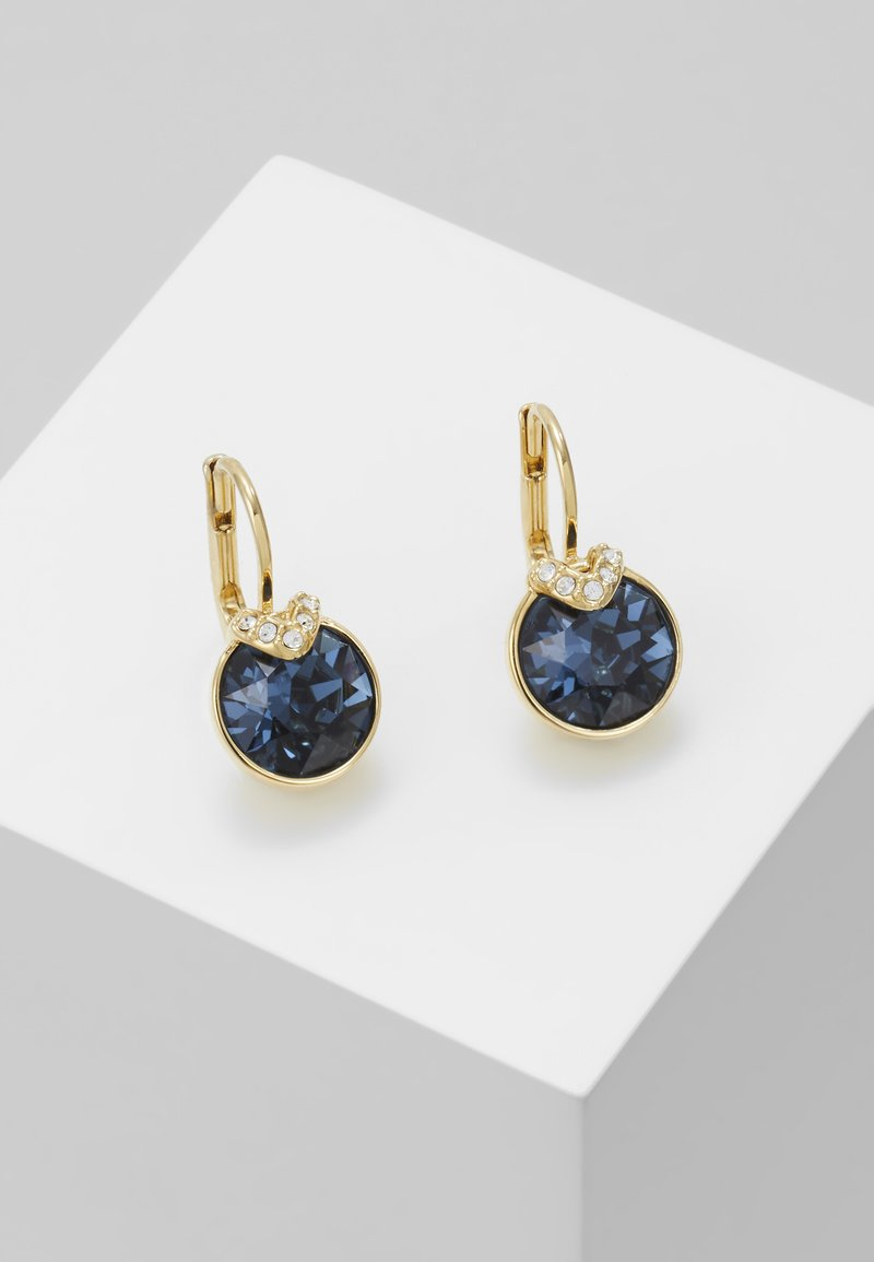 Swarovski - BELLA DROP - Oorbellen - gold-coloured/blue
