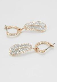 Swarovski - NAUGHTY HOOP DROP  - Earrings - rosegold-coloured - 5