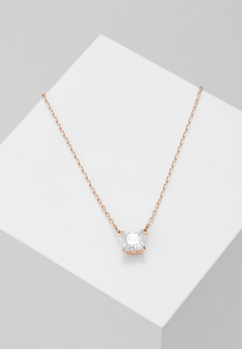 Swarovski - ATTRACT NECKLACE  - Ketting - rosegold-coloured