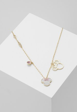 MICKEY & MINNIE PENDANT - Ketting - crystal