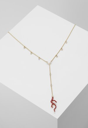 SHELL NECKLACE LONG SHELL - Collier - padparadscha