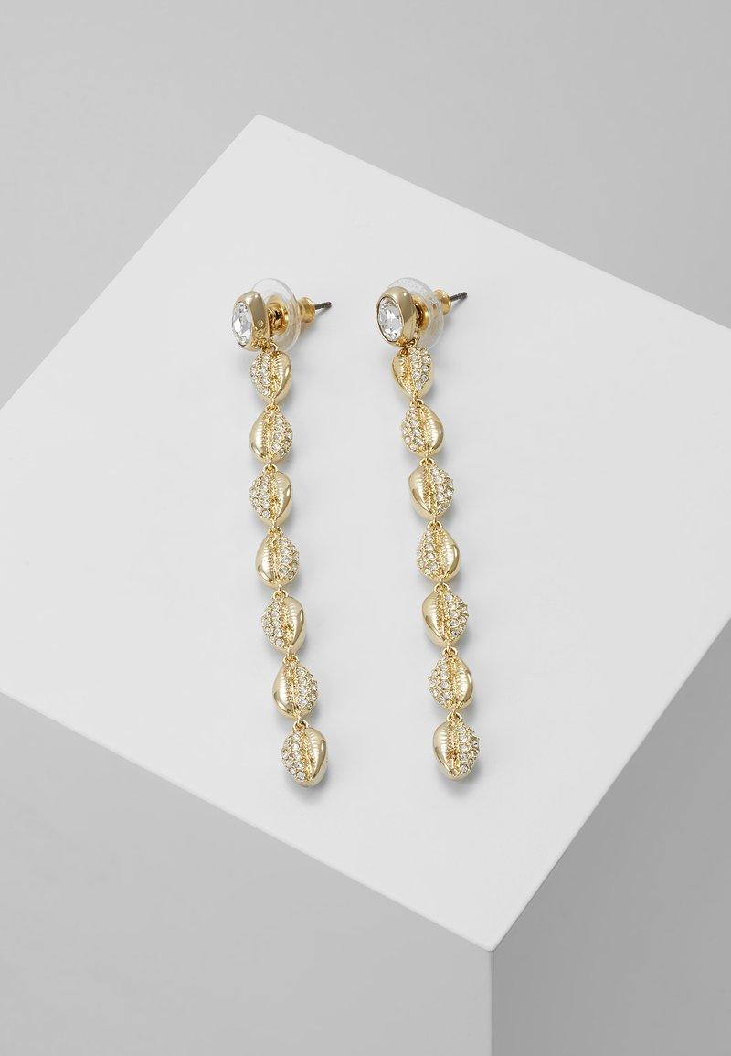 Swarovski - SHELL SYMETRIC - Earrings - gold-coloured