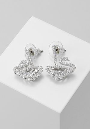 DANCING SWAN - Earrings - white