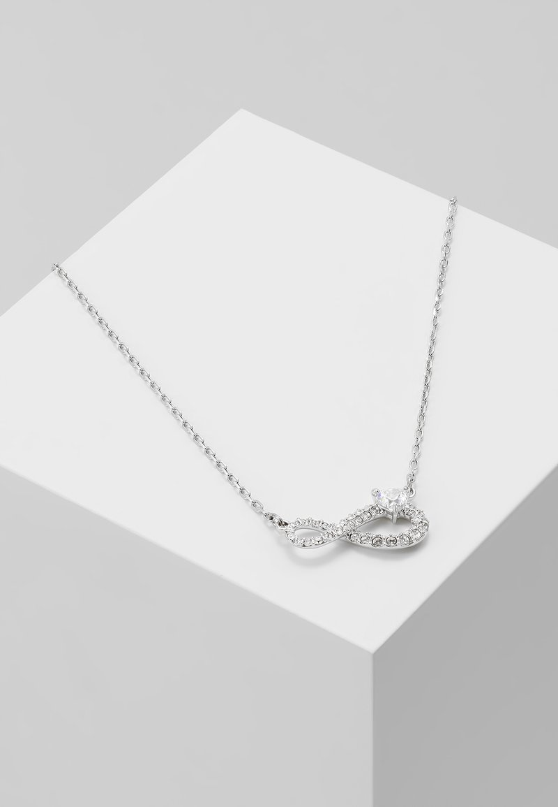 Swarovski - SWA INFINITY NECKLACE - Necklace - crystal