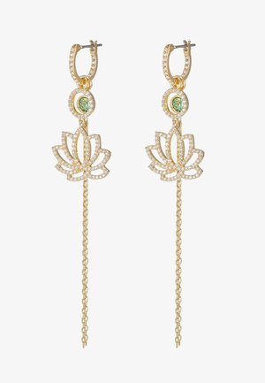 SYMBOL LOTUS - Pendientes - gold-coloured