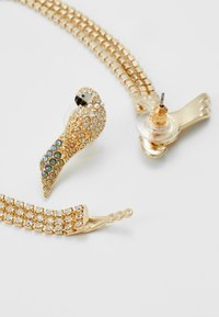 Swarovski - TROPICAL LONG PARROT - Earrings - gold-coloured - 2