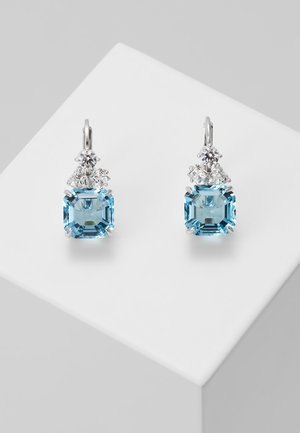 SPARKLING DROP AQUA - Earrings - aquamarine