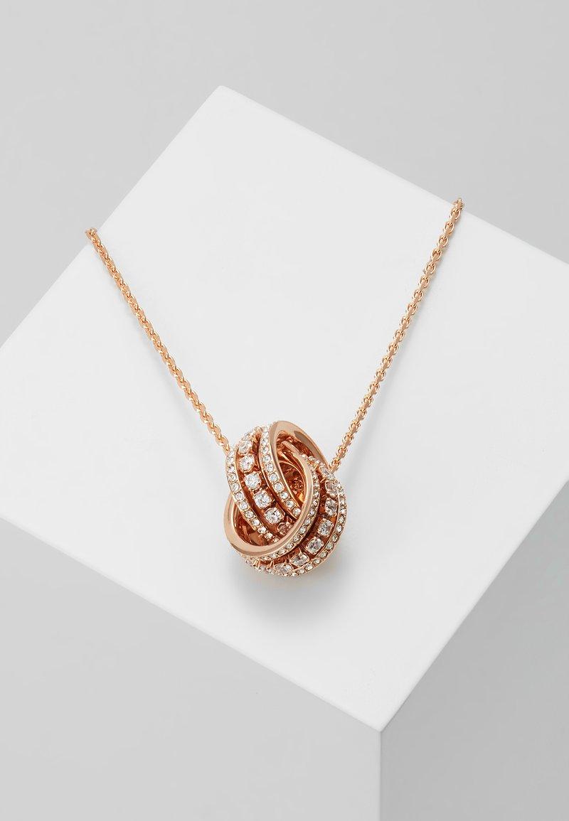 Swarovski - FURTHER PENDANT DOUBLE - Necklace - white