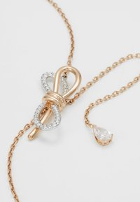 Swarovski - LIFELONG BOW NECKLACE - Halskæder - crystal - 2