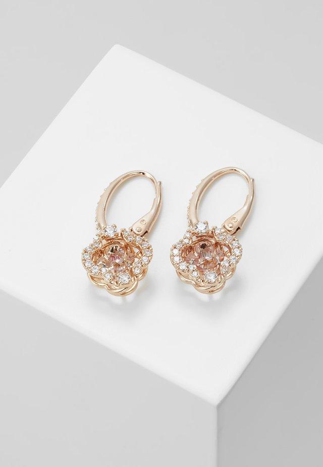 SPARKLING CLOVER - Earrings - fancy morganite
