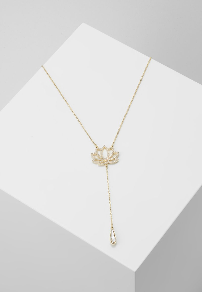 Swarovski - SYMBOL NECKLACE LOTUS - Ketting - gold-coloured