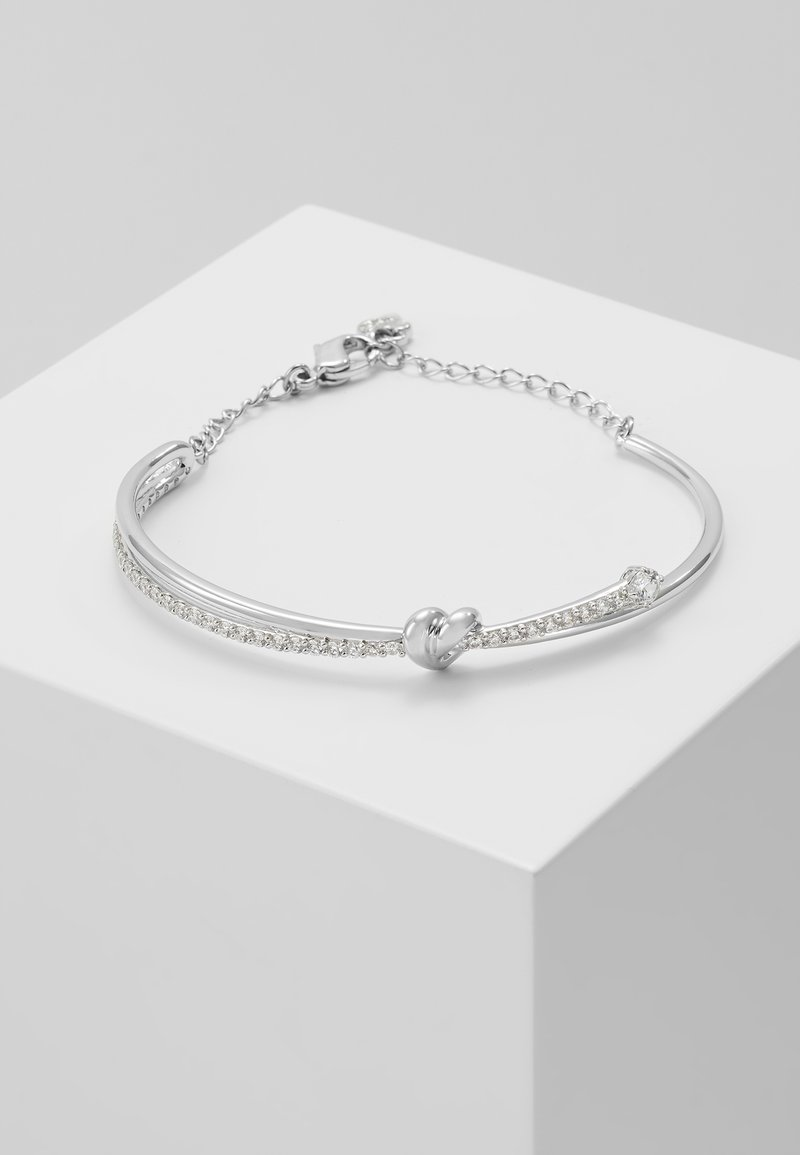 Swarovski - LIFELONG BANGLE OPEN - Armbånd - white