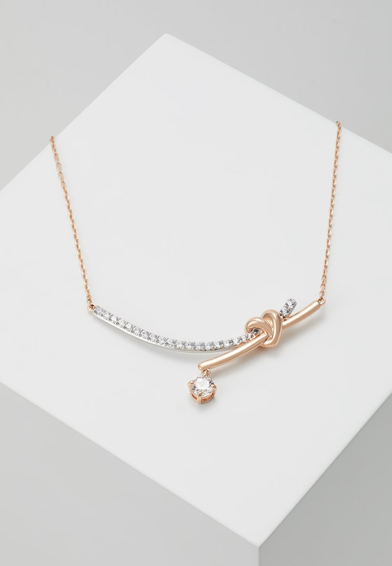 Swarovski - LIFELONG NECKLACE BARRE - Halskæder - rose gold-coloured