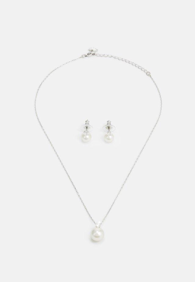 TREASURE SET - Náušnice - silver-coloured