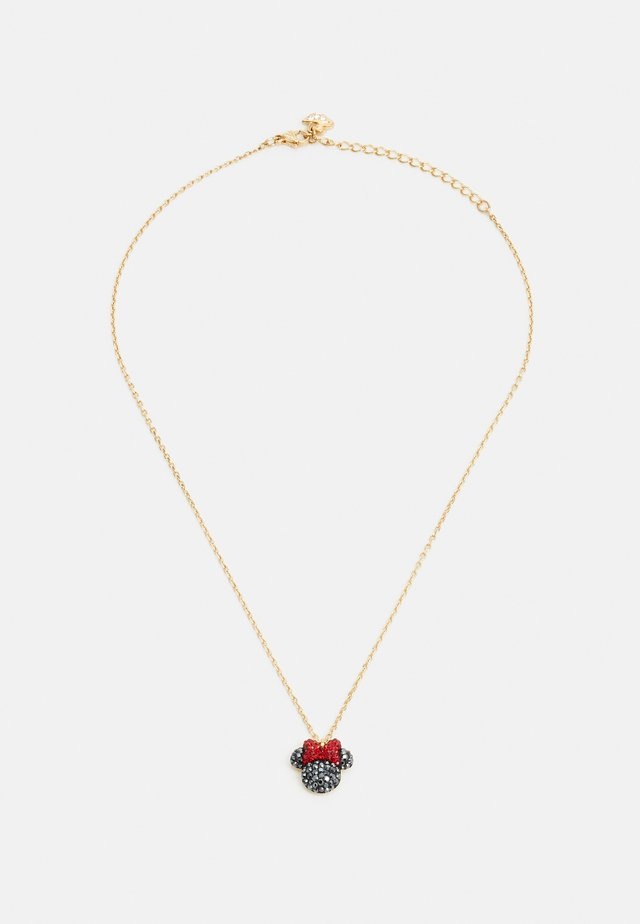 MICKEY MINNIE PENDANT  - Necklace - gold-coloured