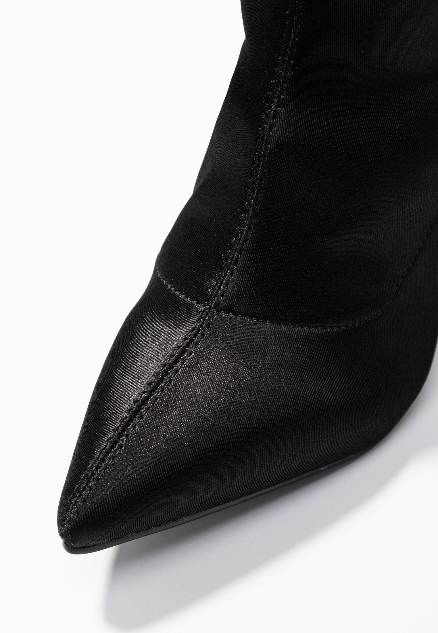 4th & Reckless CHICAGO - Bottes à talons hauts - black black