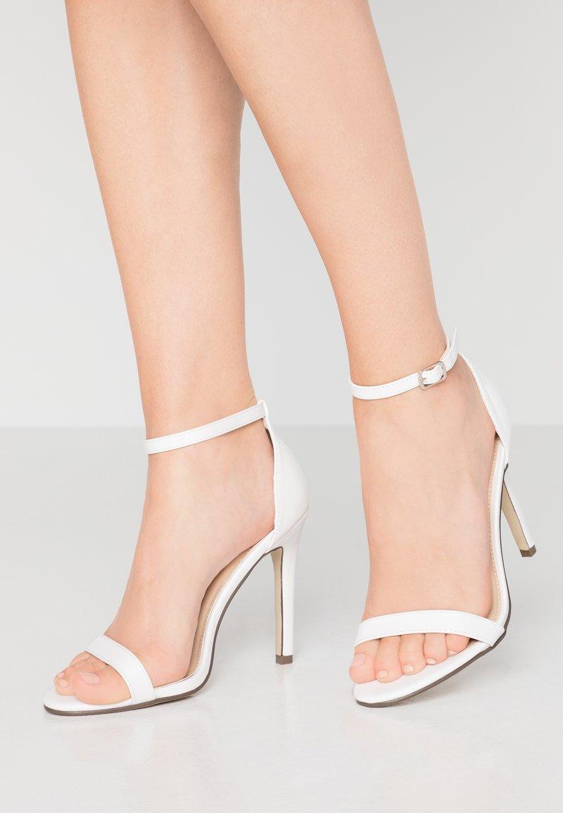 4th & Reckless - JASMINE - Højhælede sandaletter / Højhælede sandaler - white