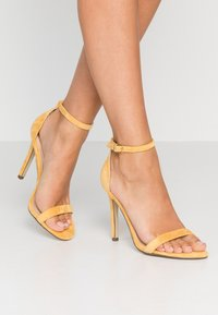 4th & Reckless - JASMINE - High heeled sandals - yellow - 0