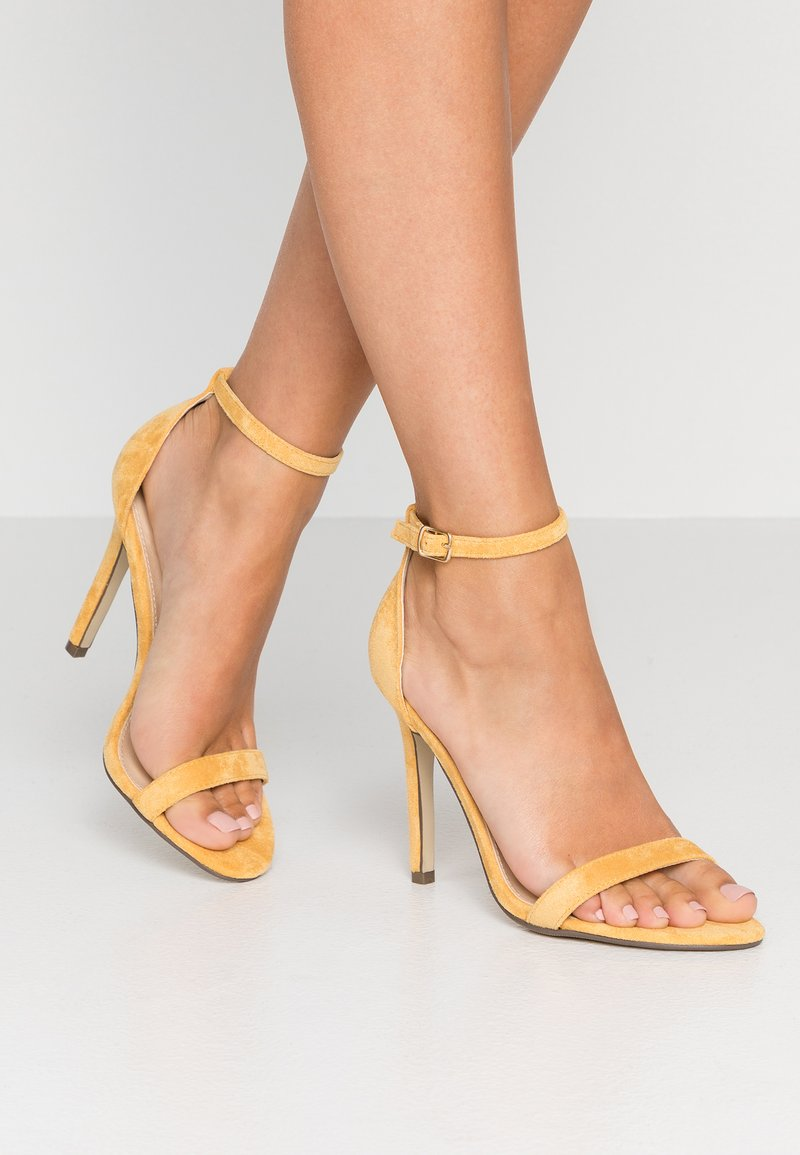 4th & Reckless - JASMINE - High heeled sandals - yellow