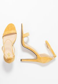 4th & Reckless - JASMINE - High heeled sandals - yellow - 3