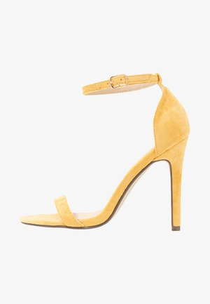 JASMINE - Sandály na vysokém podpatku - yellow