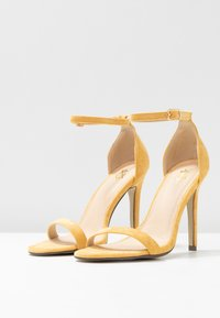 4th & Reckless - JASMINE - High heeled sandals - yellow - 4
