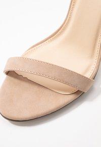 4th & Reckless - JASMINE - Sandaler med høye hæler - nude - 2