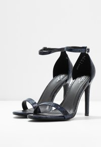 4th & Reckless - JASMINE - Sandalen met hoge hak - blue - 4
