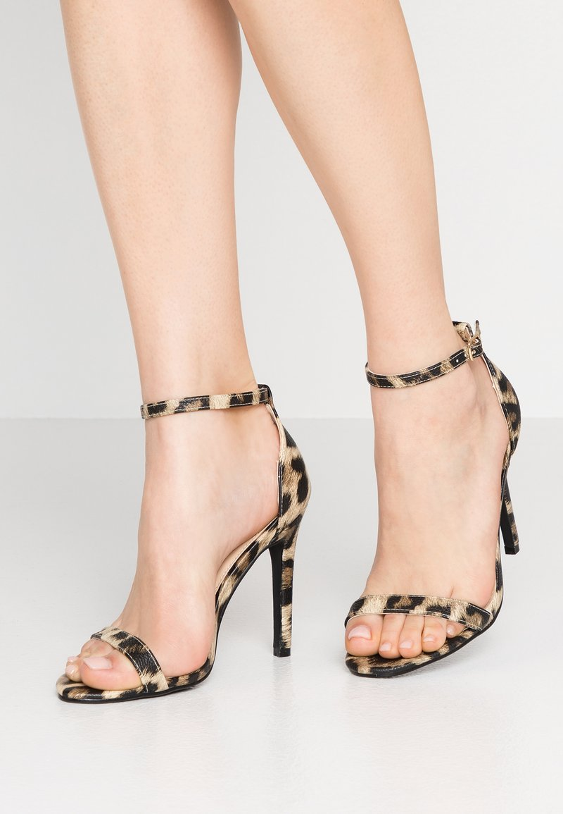 4th & Reckless - JASMINE - High Heel Sandalette - brown