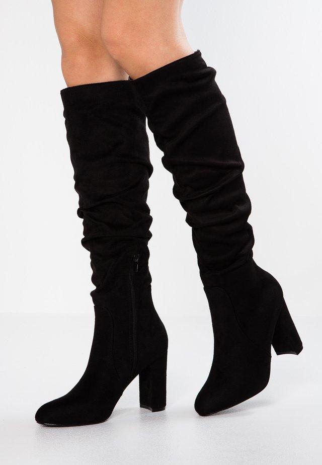 TILLY - High Heel Stiefel - black