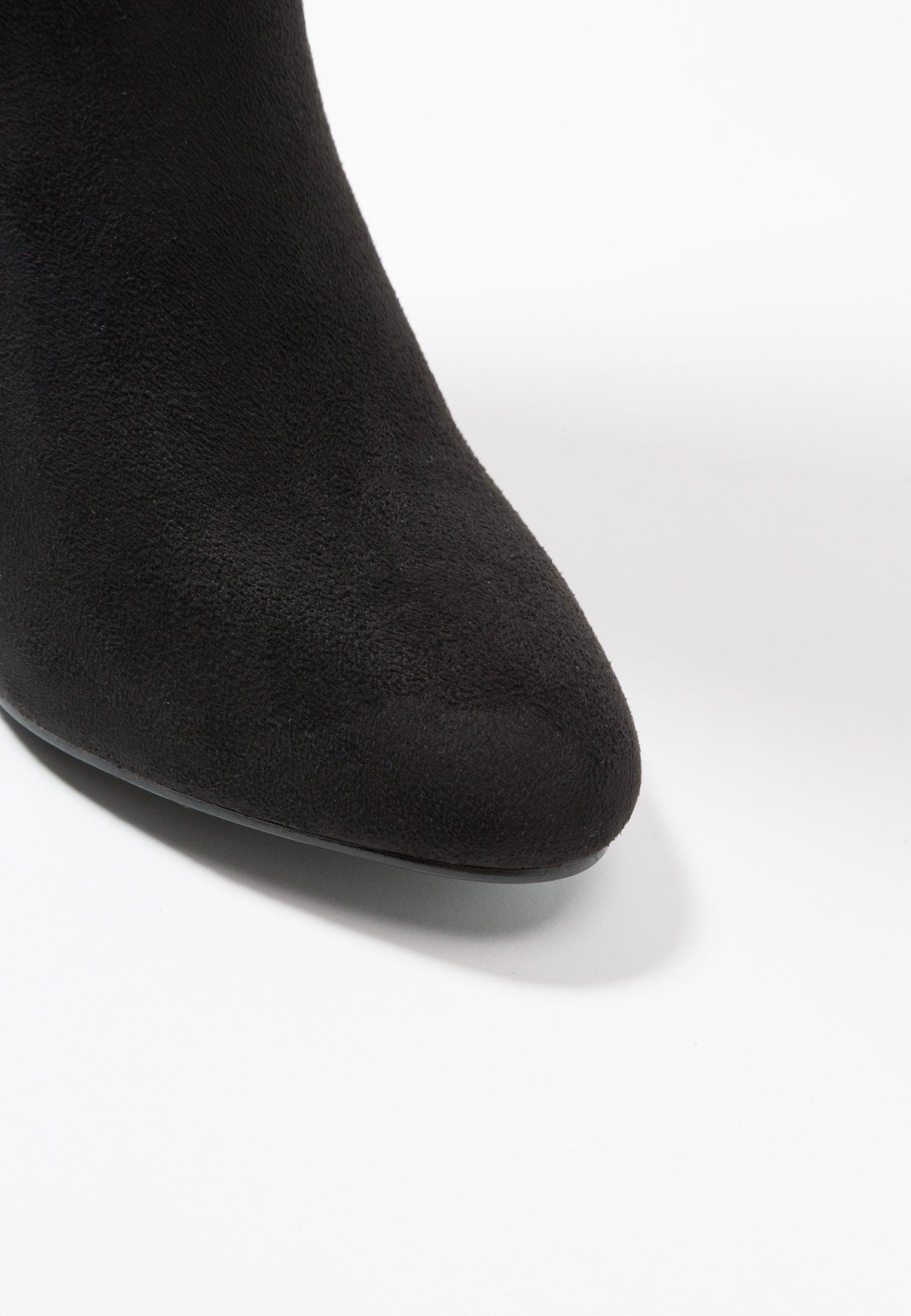 4th & Reckless TILLY - Bottes à talons hauts - black black