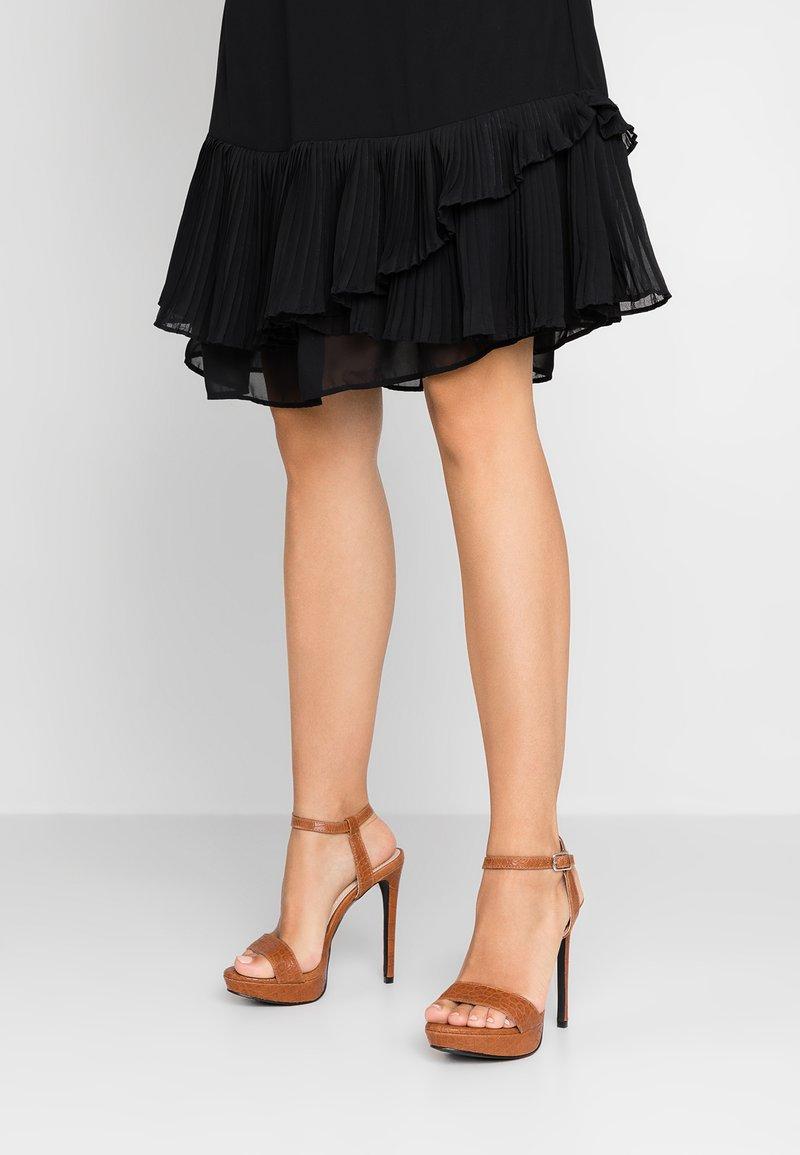 4th & Reckless - LUNA - High heeled sandals - tan