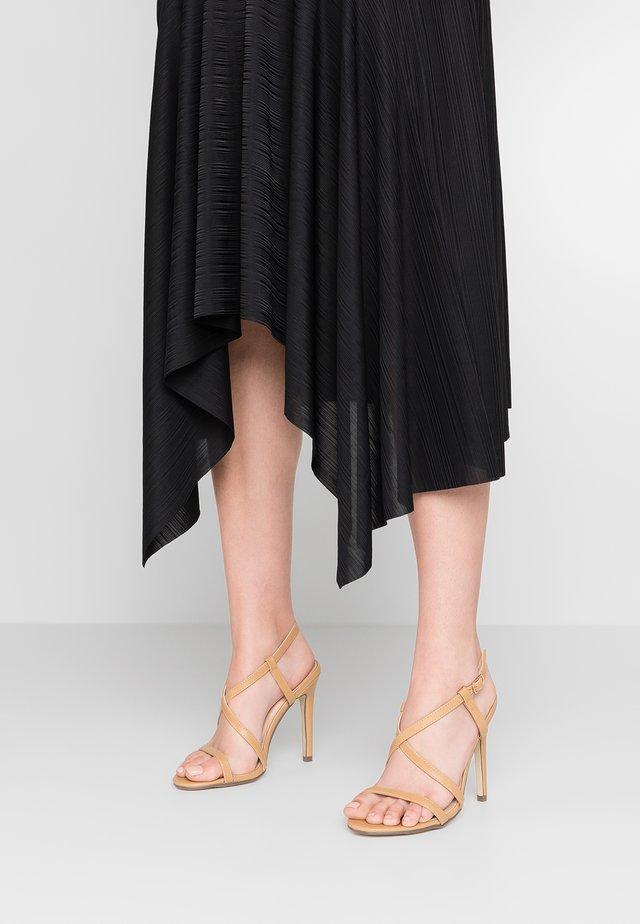 ALIS - High heeled sandals - nude