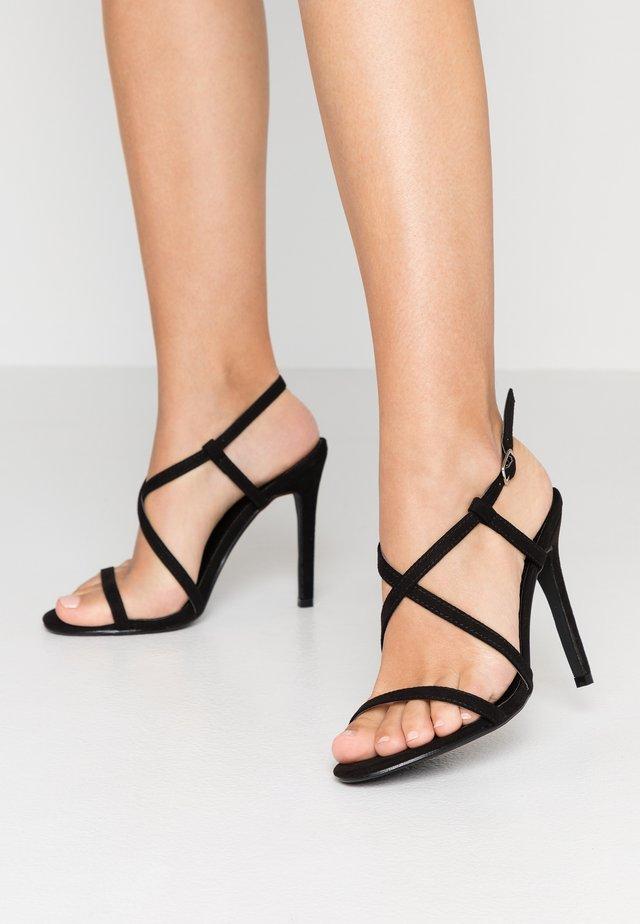 ALIS - High heeled sandals - black