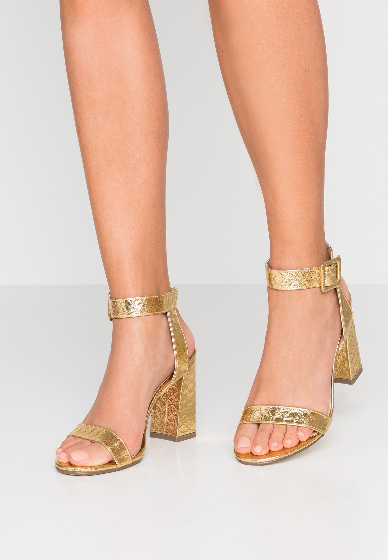 4th & Reckless ELLIS - Sandali con tacco gold