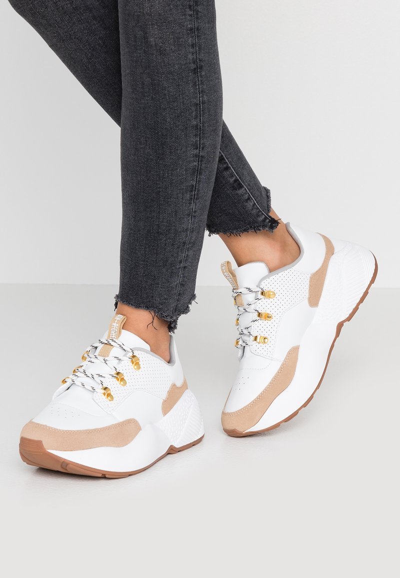 4th & Reckless - RIRI - Baskets basses - white/nude