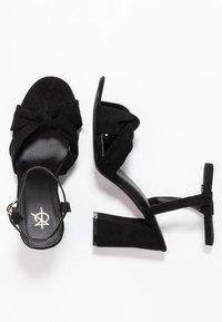 4th & Reckless - ECCLES - Sandali con tacco - black - 3