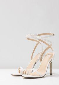 4th & Reckless - ROBBIE - High Heel Sandalette - white - 4