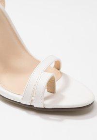 4th & Reckless - ROBBIE - High Heel Sandalette - white - 2