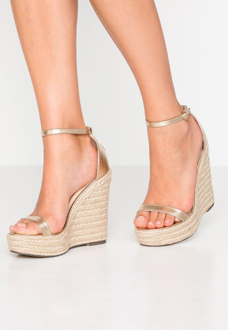 4th & Reckless - PARK - Højhælede sandaletter / Højhælede sandaler - gold