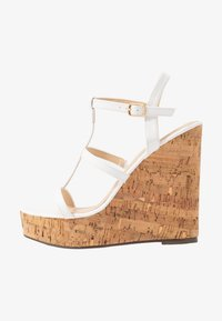 4th & Reckless - BURTON - Sandalias de tacón - white - 1